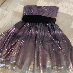 Adrianna Papell-Hailey Logan Party Dress PurpleHue